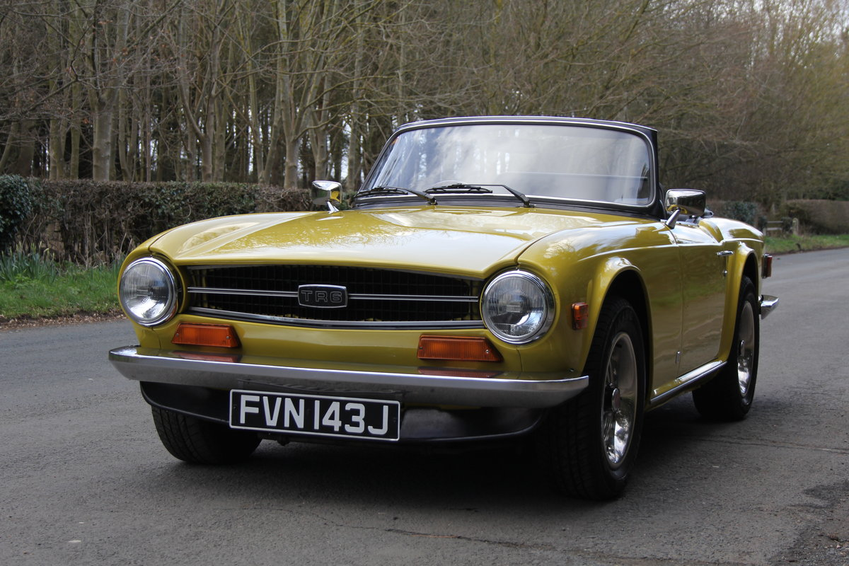 1971 Triumph TR6 - Proven overseas tourer SOLD (picture 2 of 12)