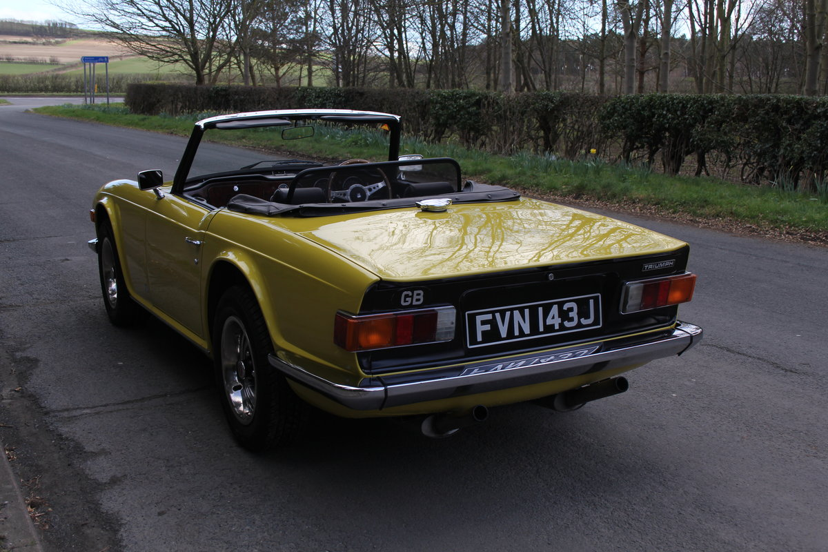 1971 Triumph TR6 - Proven overseas tourer SOLD (picture 3 of 12)