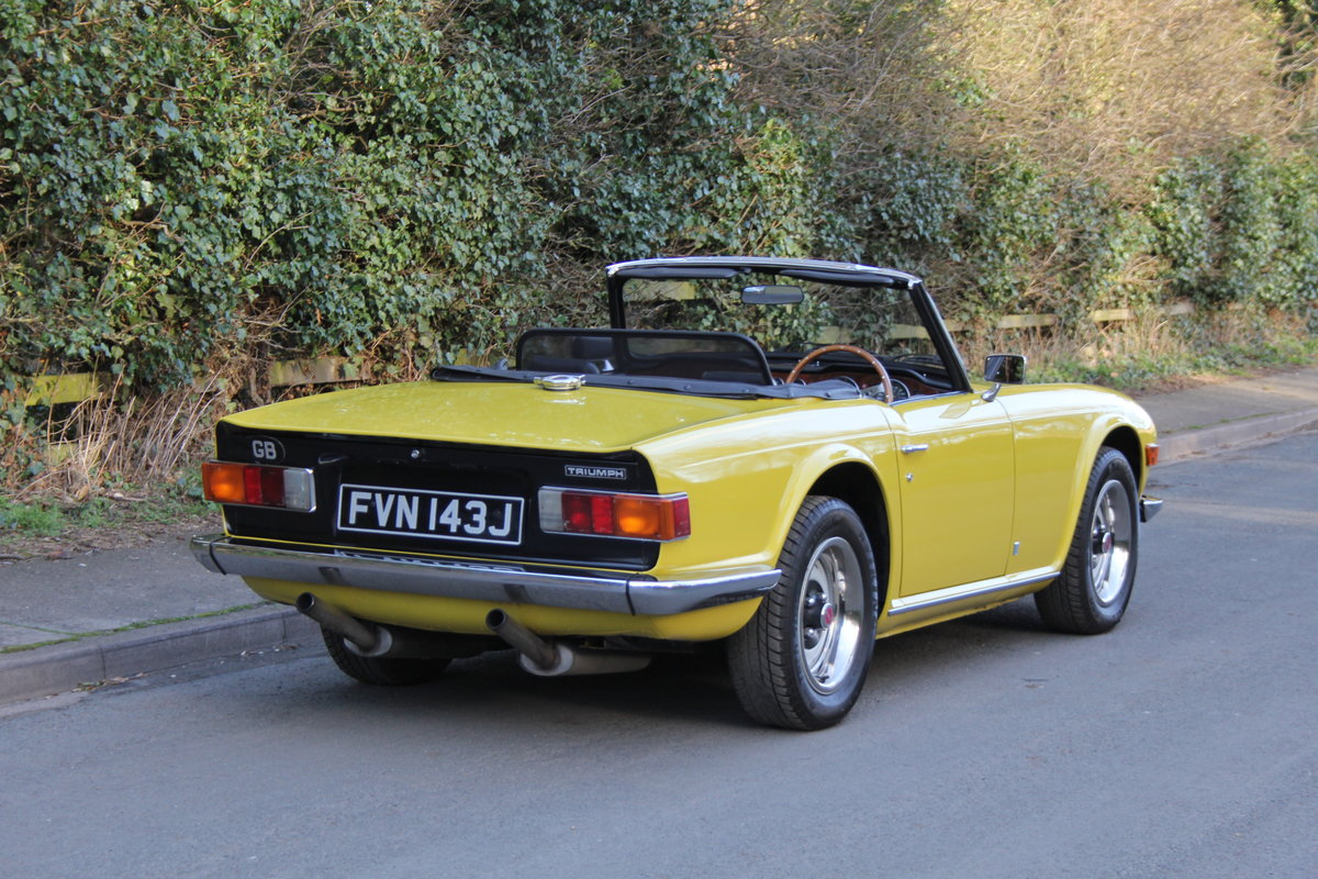 1971 Triumph TR6 - Proven overseas tourer SOLD (picture 4 of 12)