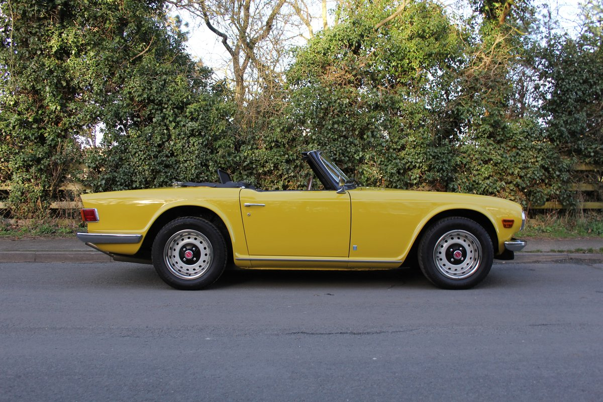 1971 Triumph TR6 - Proven overseas tourer SOLD (picture 5 of 12)