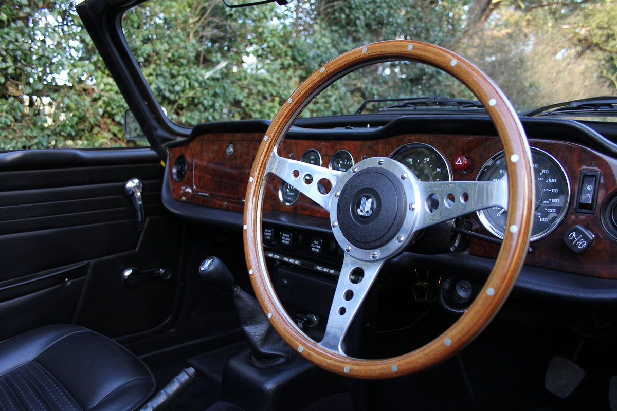 1971 Triumph TR6 - Proven overseas tourer SOLD (picture 6 of 12)