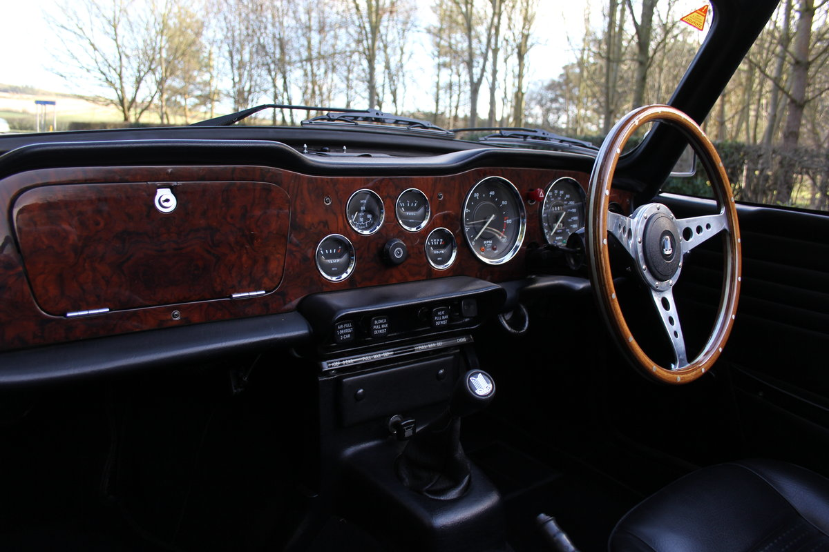 1971 Triumph TR6 - Proven overseas tourer SOLD (picture 8 of 12)