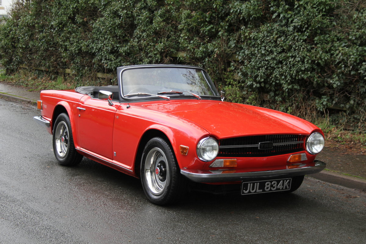 1971 Triumph TR6 PI 150 BHP with O/D - Outstanding  For Sale (picture 1 of 12)