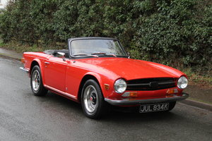 1971 Triumph TR6 PI 150 BHP with O/D - Outstanding  For Sale