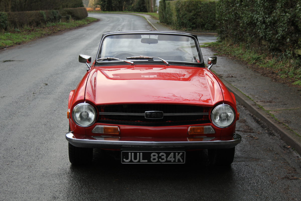 1971 Triumph TR6 PI 150 BHP with O/D - Outstanding  For Sale (picture 2 of 12)