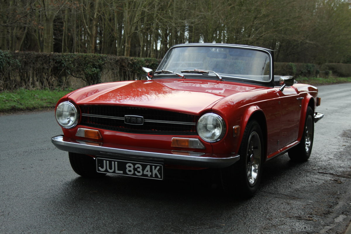 1971 Triumph TR6 PI 150 BHP with O/D - Outstanding  For Sale (picture 3 of 12)