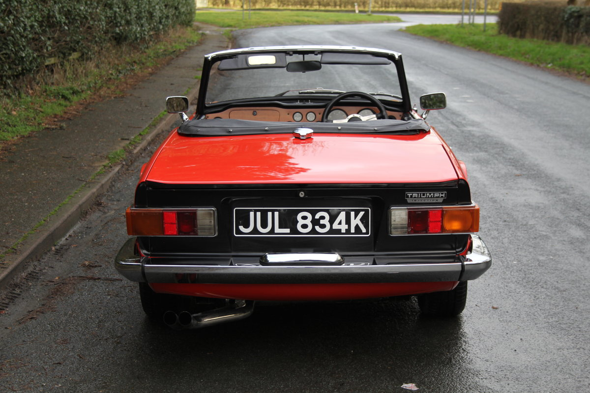 1971 Triumph TR6 PI 150 BHP with O/D - Outstanding  For Sale (picture 4 of 12)