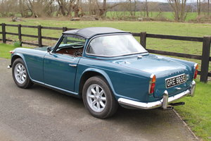 1967 Triumph TR4a with Surrey top