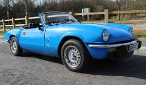 1980 Triumph Spitfire 1500 67,000 miles Excellent Condition  SOLD