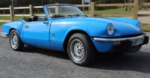 1980 Triumph Spitfire 1500 67,156 miles with 4 Owners SOLD