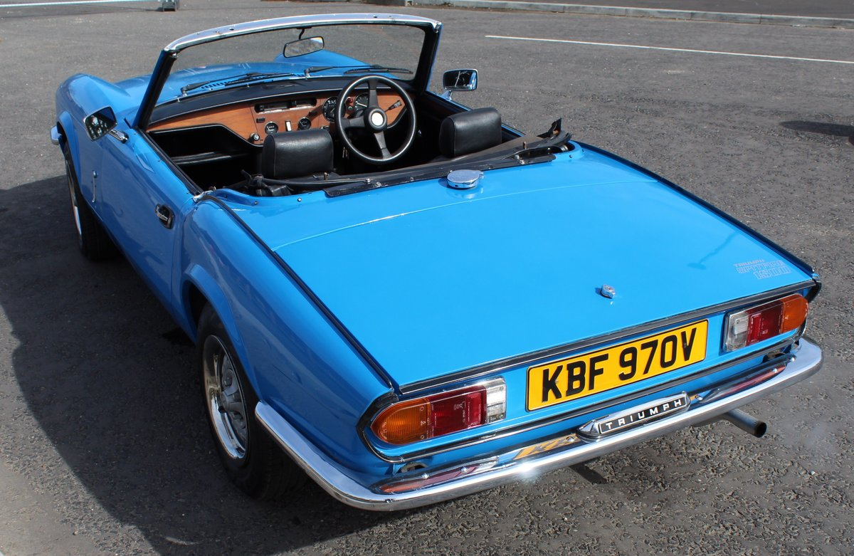 1980 Triumph Spitfire 1500 67,156 miles with 4 Owners SOLD (picture 2 of 6)