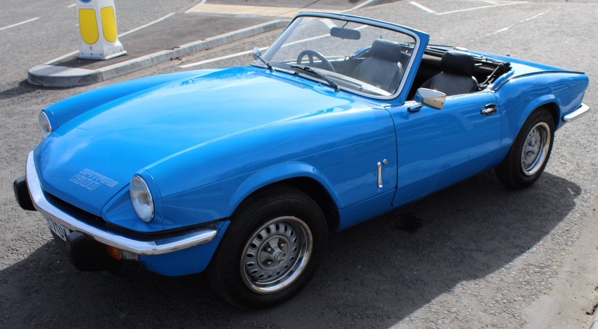 1980 Triumph Spitfire 1500 67,156 miles with 4 Owners SOLD (picture 3 of 6)