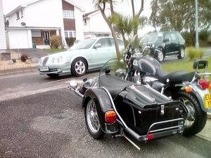 2003 Triumph thunderbird/Hedingham sidecar