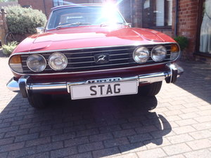 Triumph Stag Mk1 1972 For Sale