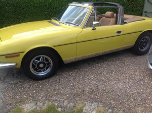 1978 triumph stag mk11 auto 3litre SOLD
