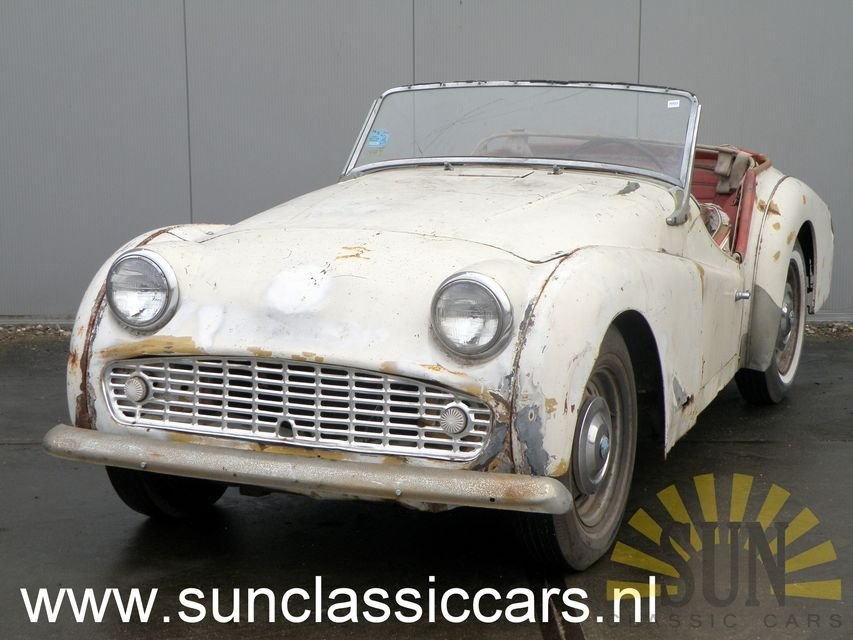 Triumph TR3 B 1962 for restoration For Sale (picture 1 of 6)