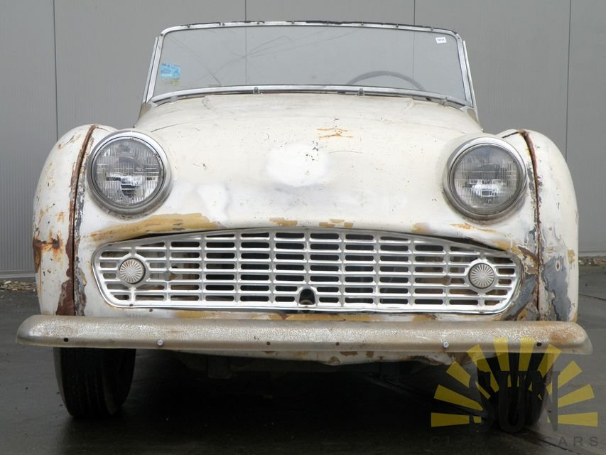 Triumph TR3 B 1962 for restoration For Sale (picture 2 of 6)