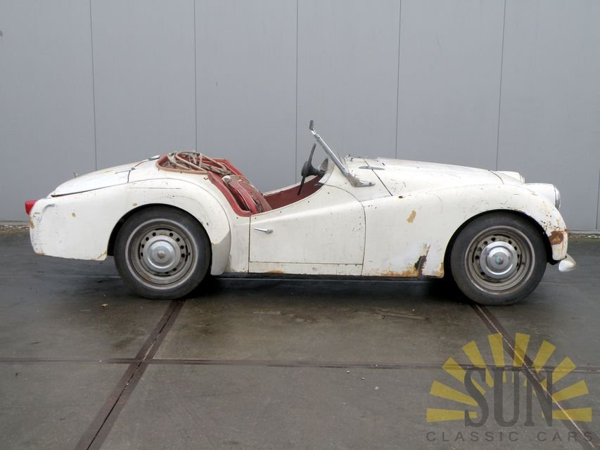 Triumph TR3 B 1962 for restoration For Sale (picture 3 of 6)