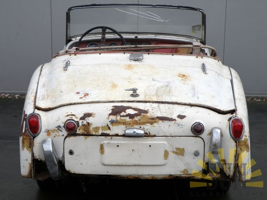 Triumph TR3 B 1962 for restoration For Sale (picture 4 of 6)