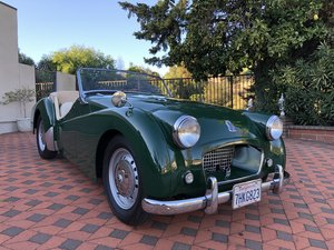 ***1954 Triumph Tr2 ( one owner ) For Sale
