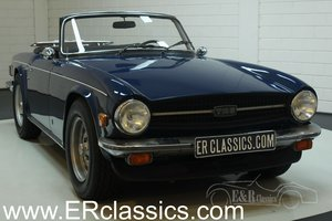 Triumph TR6 cabriolet 1975 Delft Blue For Sale
