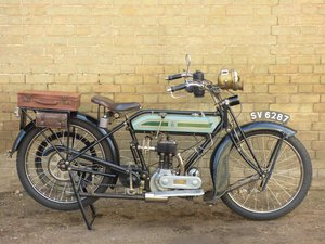 1921 Triumph Model SD 550cc SOLD