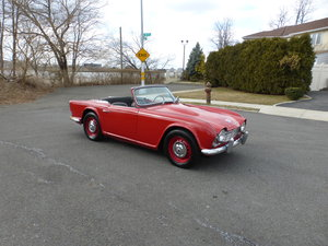 1962 Triumph TR4 With Overdriver Good Mechanics For Sale