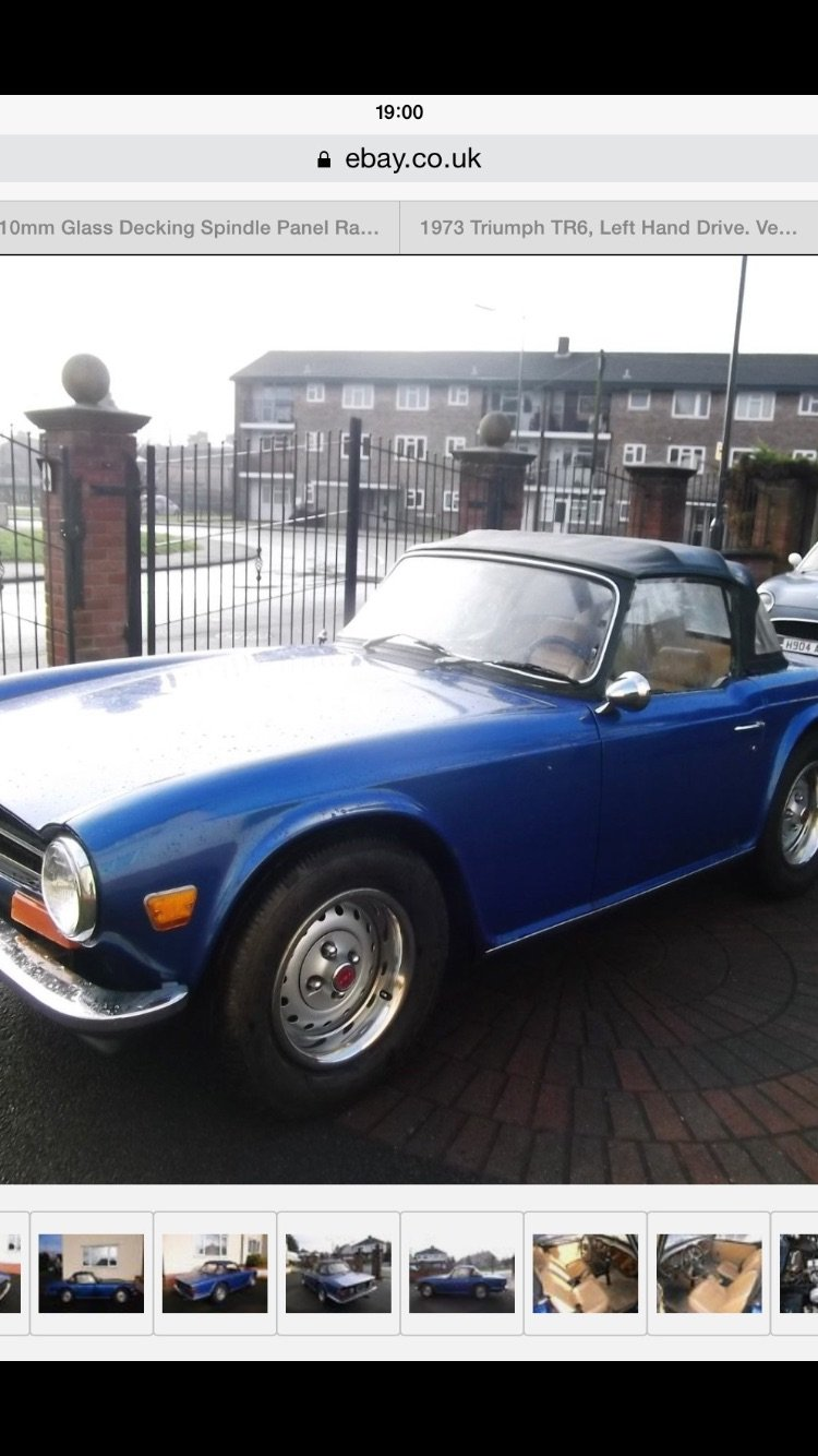 1973 Tr6 For Sale Car And Classic