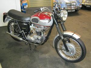 1969 TRIUMPH BONNEVILLE T120. 650CC SOLD