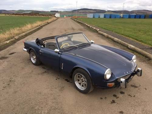 1969 Trumph Spitfire at Morris Leslie Auction 25th May SOLD by Auction (picture 1 of 6)