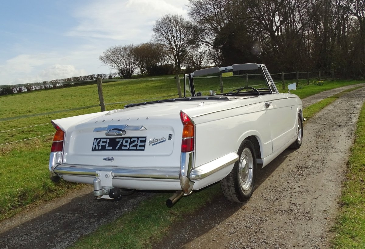 1967  Vitesse Mk1 2-litre overdrive Convertible, ready to enjoy.  SOLD (picture 3 of 6)