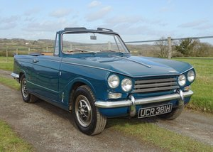 1970 Lovely Mk2 Triumph Vitesse convertible,O/D,Heritage cert. For Sale