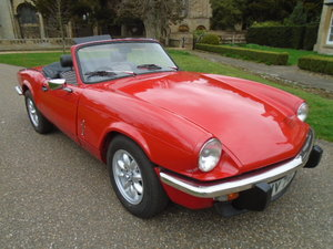 1979 Triumph Spitfire 1500. For Sale