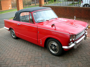 1971 Vitesse Mk 2 Convertible Body Off Restoration For Sale