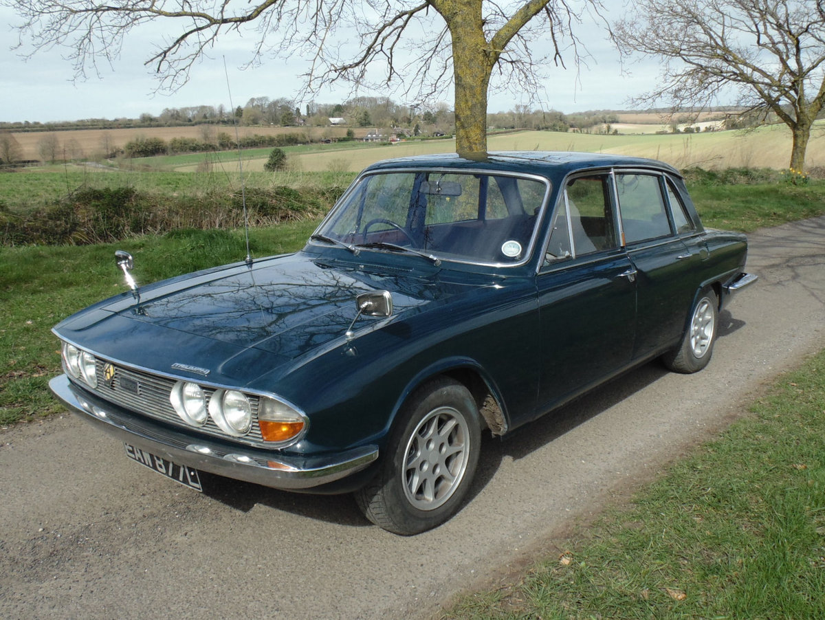 1972 Triumph 2000 Mk2 SOLD (picture 1 of 6)