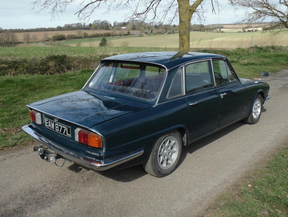 1972 Triumph 2000 Mk2 SOLD (picture 3 of 6)