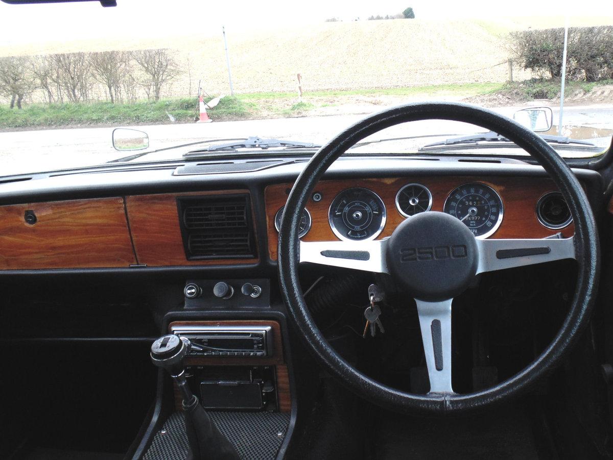 1972 Triumph 2000 Mk2 SOLD (picture 4 of 6)