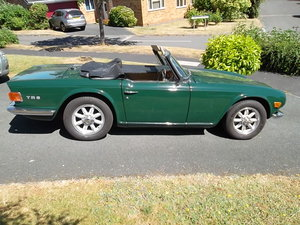 1971 Excellent TR6 Rover Racing Green For Sale