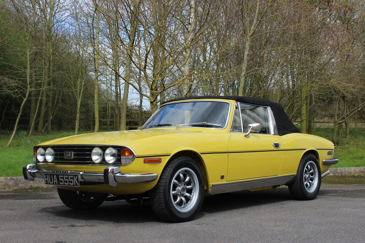 1972 TRIUMPH STAG – AUTO. For Sale (picture 1 of 6)