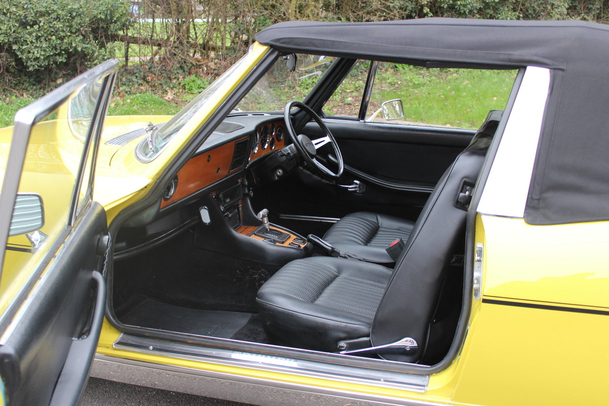 1972 TRIUMPH STAG – AUTO. For Sale (picture 3 of 6)