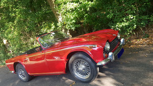 low mileage 1968 Triumph TR5 P.I.   RHD For Sale
