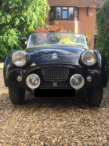 1953 Mille Miglia eligible Triumph TR2 long door For Sale