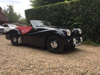 1953 Mille Miglia eligible Triumph TR2 long door For Sale (picture 2 of 6)