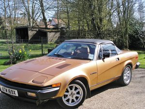 1981 TR7 Convertible  For Sale