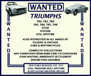 WANTED! TRIUMPH Wanted