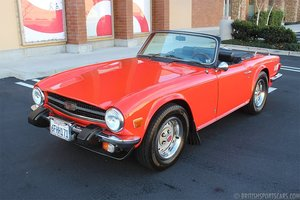 1974 Triumph TR6 Roadster = Restored Red(~)Black $18.5k For Sale