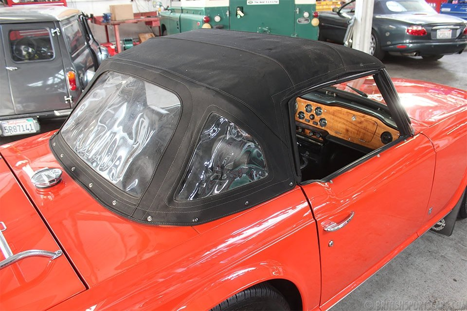 1974 Triumph TR6 Roadster = Restored Red(~)Black $18.5k For Sale (picture 5 of 6)