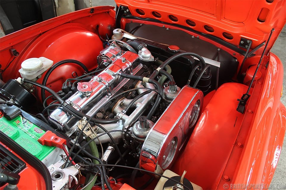 1974 Triumph TR6 Roadster = Restored Red(~)Black $18.5k For Sale (picture 6 of 6)