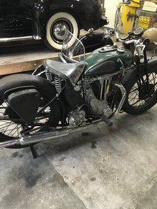 Triumph 5/2 500ohv 1934 For Sale