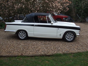 1970 VITESSE CONVERTIBLE MK2 2L OVERDRIVE LOVELY CAR SOLD